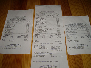 Always check your receipts