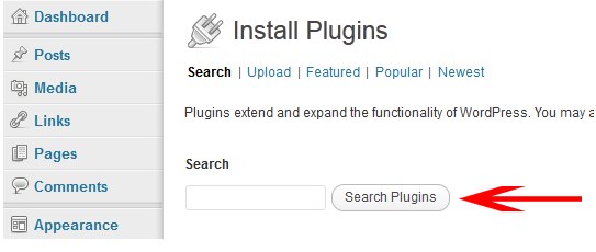 Add WordPress Plugins