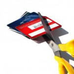 If you have too many credit cards, cut them up!