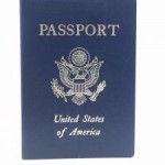 U S Passport goes into a safe deposit box