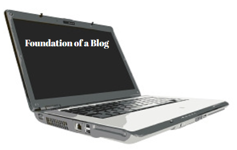 Foundation of a Blog