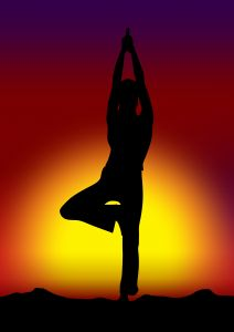 Do yoga and clear your mind