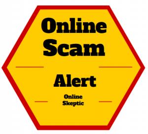 Online Scam Alert