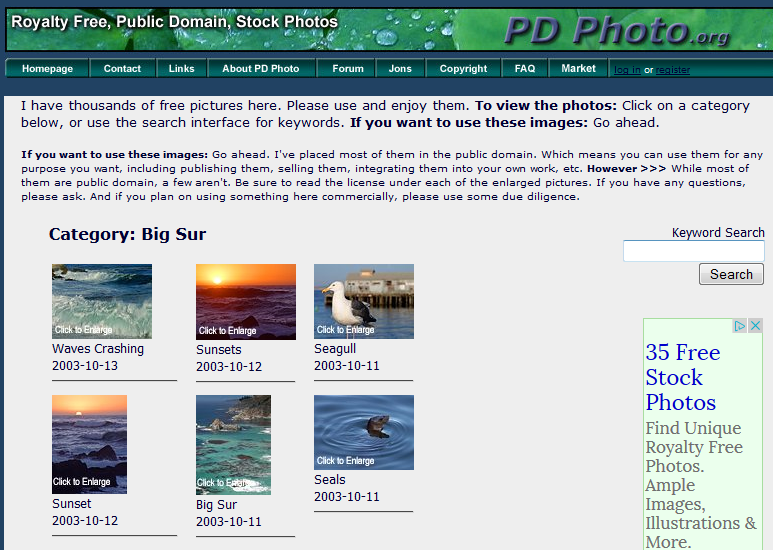 PD Photo site